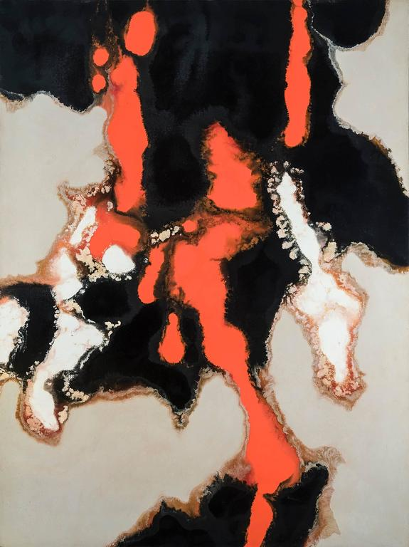 Stanley Twardowicz Abstract Painting - No. 19-1958