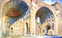 Alexander Creswell - Rome - The Basilica of Maxentius