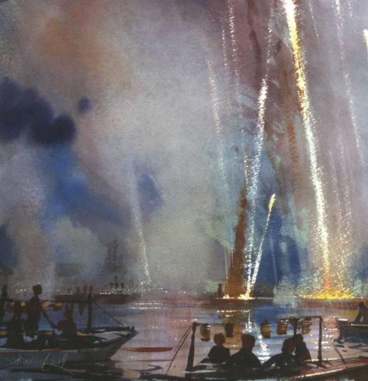 Venice - Redentore Fireworks, Sound Study Six 2