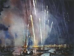 Alexander Creswell - Venice - Redentore Fireworks, Sound Study Six