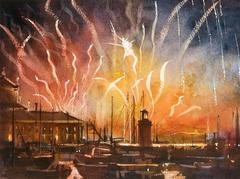 Venice - Redentore Fireworks, Sound Study Seven