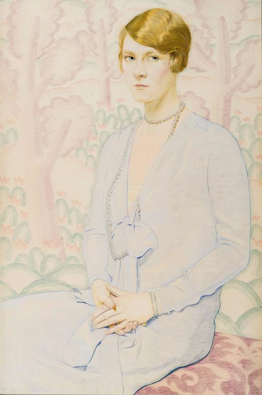 Portrait of Carol Moon Gardner (1909–1964)