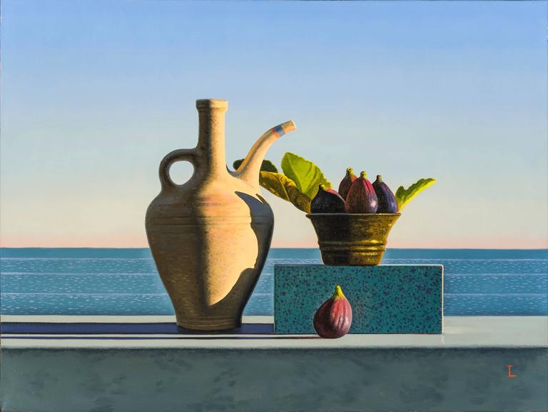 Still Life with Figs and Egyptian Pot