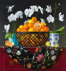 Still Life with Oranges in a Basket