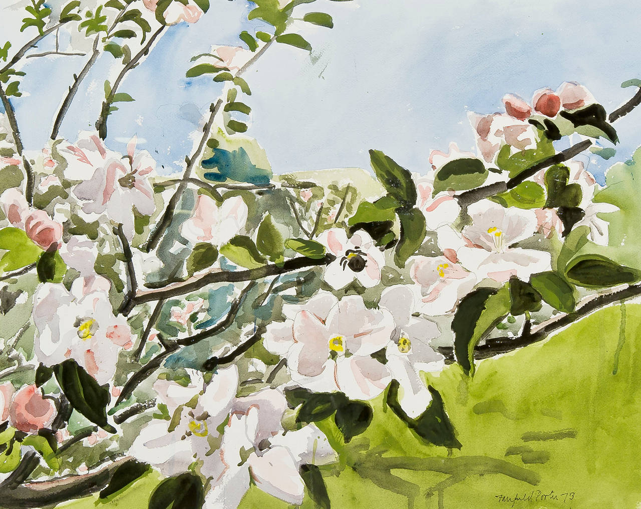 Fairfield Porter - Apple Branch 1