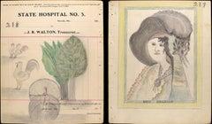 """Miss. Millburn"" / Chickens, Turkey and Trees  [217/218]"