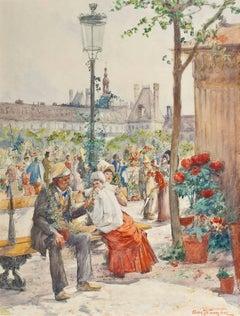 Le Marche aux Fleurs de Notre Dame