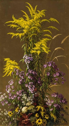 Golden Rod and other Wildflowers