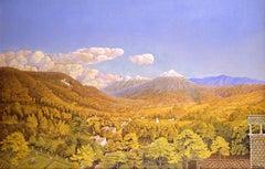 Views of Mt.Popocatepetl and Mt.Ixtacihuatl