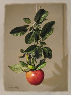 Branch with Apple
