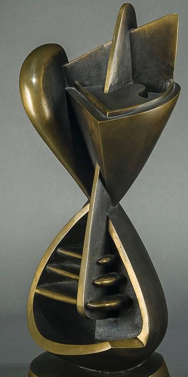 Torso Manique (Surveyor) - Sculpture by Theodore J. Roszak
