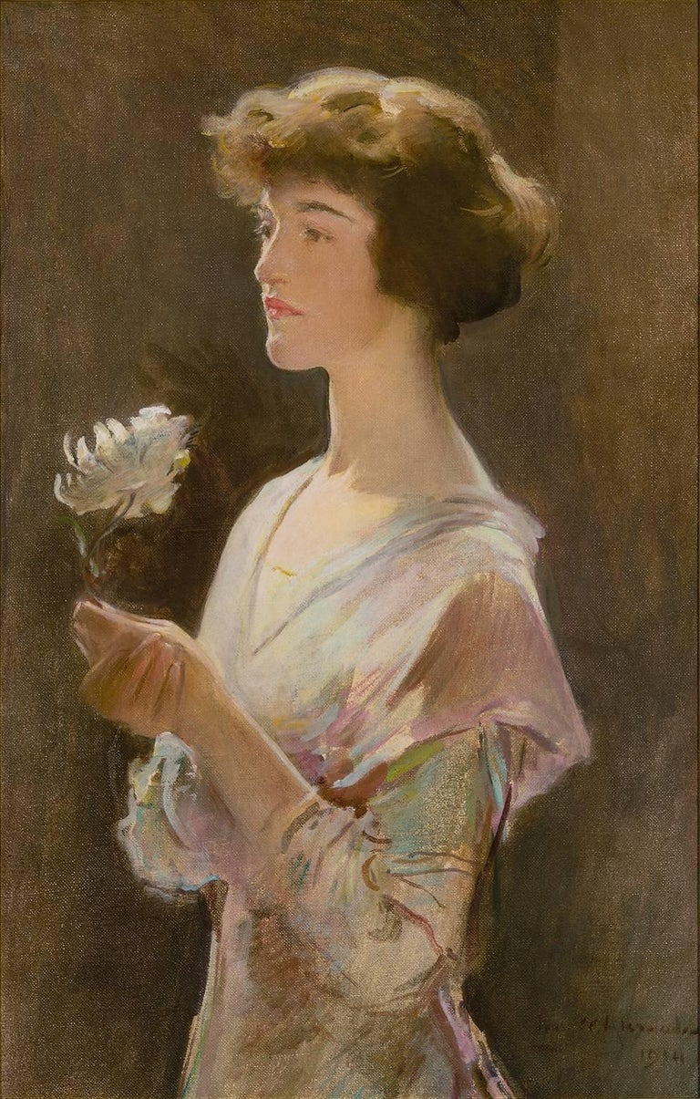 Portrait of Julia Swift Gilbert