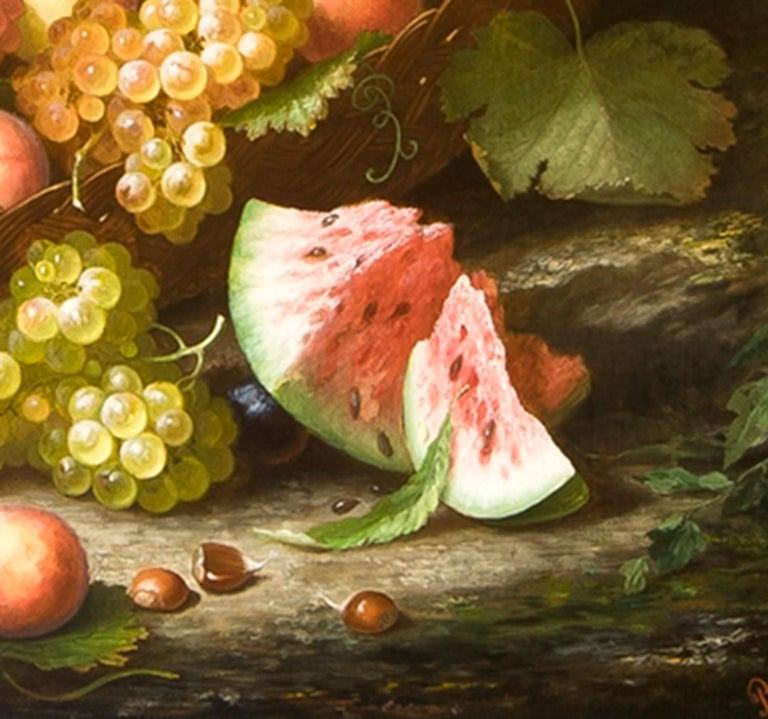 Still Life in a Landscape - Painting by Paul LaCroix