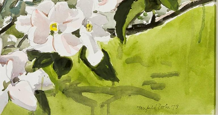 Apple Branch - Realist Art by Fairfield Porter