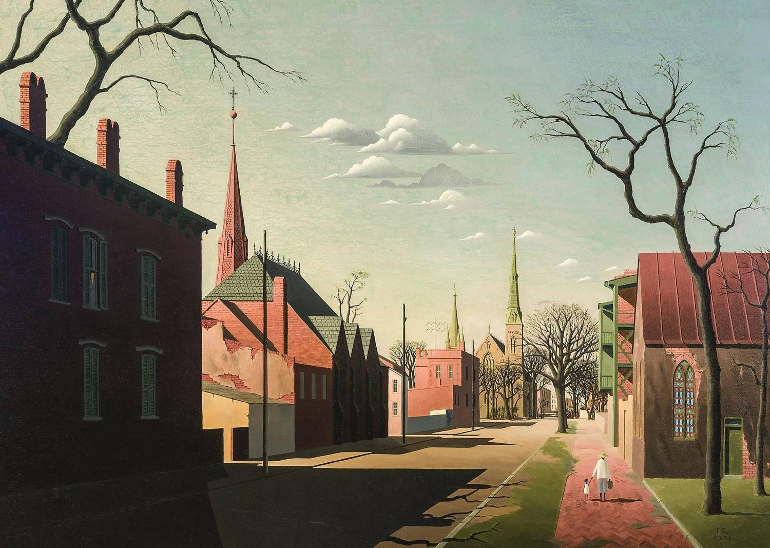Thomas Fransioli Street Scene South Boston For Sale At