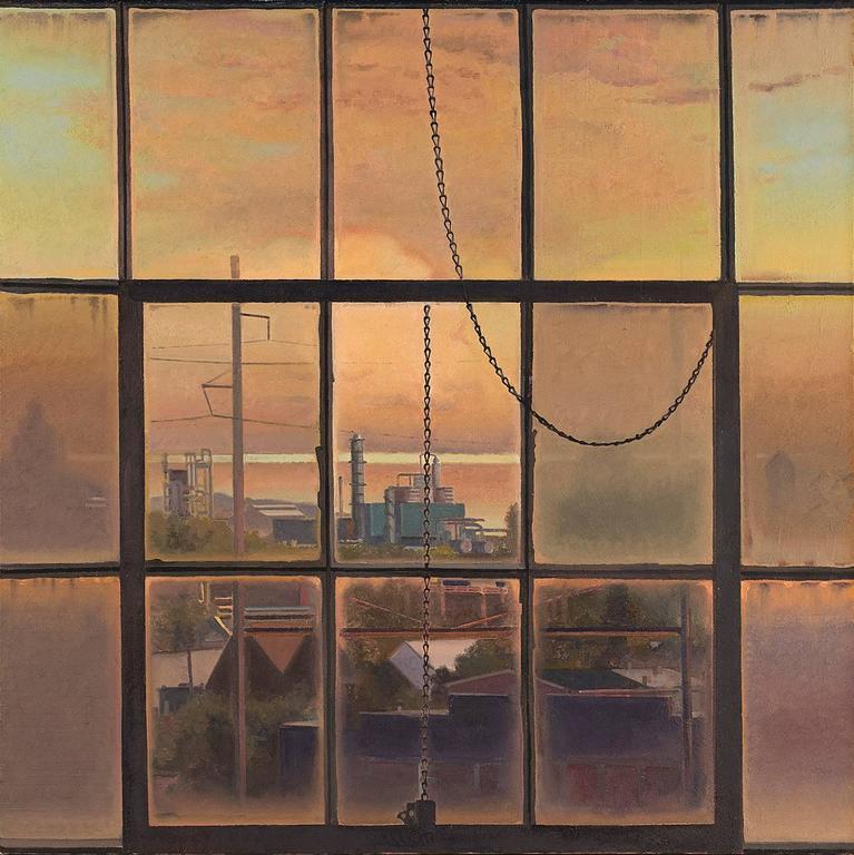 John Moore Last Sunset Of The Season Painting At 1stdibs