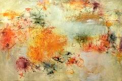 """Improvisation II, oil on canvas, 40"""" x 60"""""""