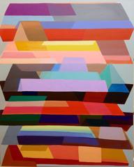 "The Poet, acrylic on canvas, 60"" x 48"""