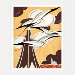 Jacques Darcy - Cranes, Paris c1935