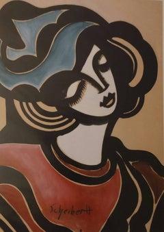 Woman Dreaming