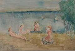 Women Bathing in Tiberias