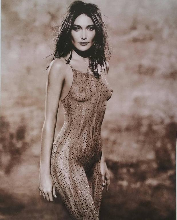 Holger Eckstein - Carla Bruni - Body Paint, Photograph -7674