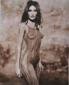 Carla Bruni - Body Paint