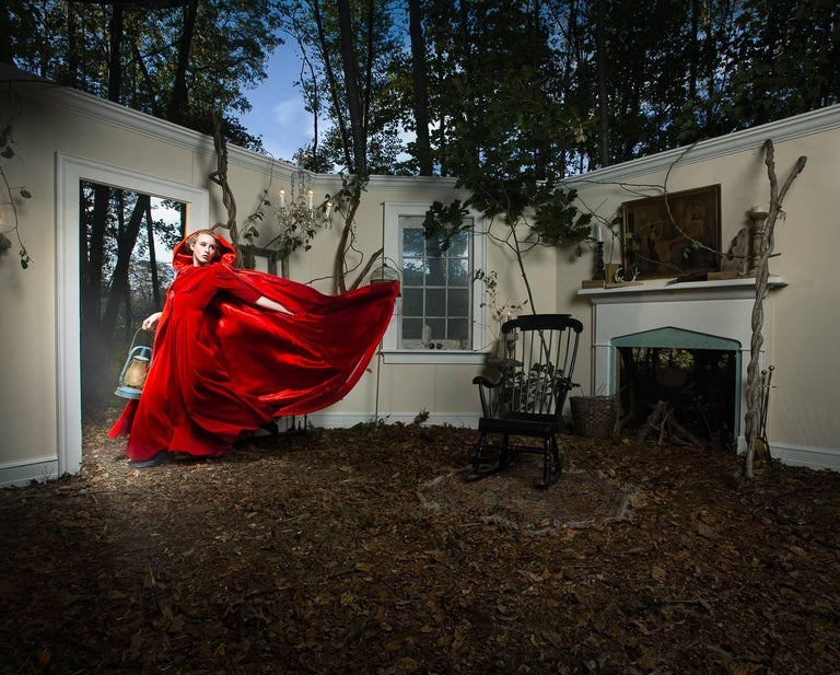 Adrien Broom Color Photograph - Red