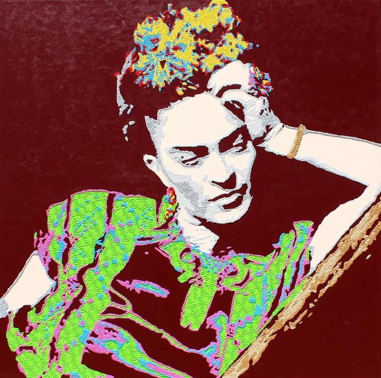 Natan Elkanovich Portrait Painting - Frida Kahlo