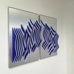 It takes two - kinetic wall sculpture by J. Margulis