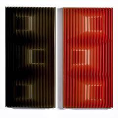 Gold Slides (Red and black)