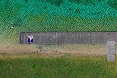 Quiet please - Aerial color photography
