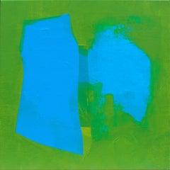 Blue outline