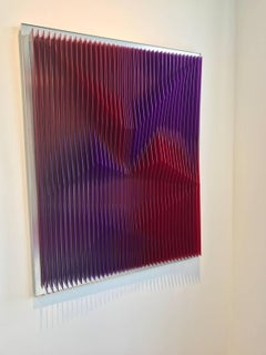 Juxtapose 4 - Geometric Abstract Kinetic Art by J. Margulis