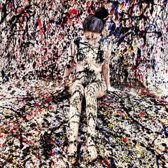 Hommage a Pollock I