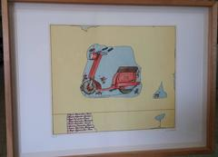 """Motorcycle"" From the portfolio""The Beautiful Sixties"""