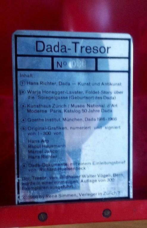 Dada Tresor For Sale 1
