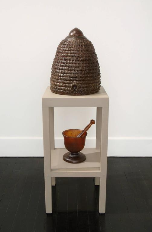 Michael Rogers Still-Life Sculpture - The Amber Hive