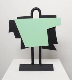 The New Outfit - geometric steel sculpture