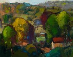 Early Autumn Voices - landscape painting