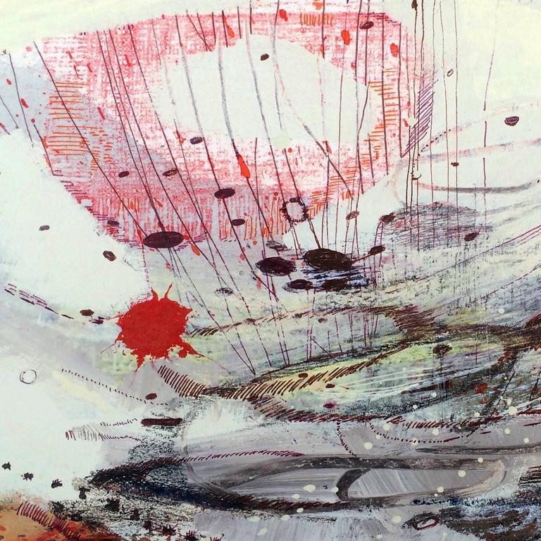 Slip Landing on the Mud Flats - Art by Melissa Zarem