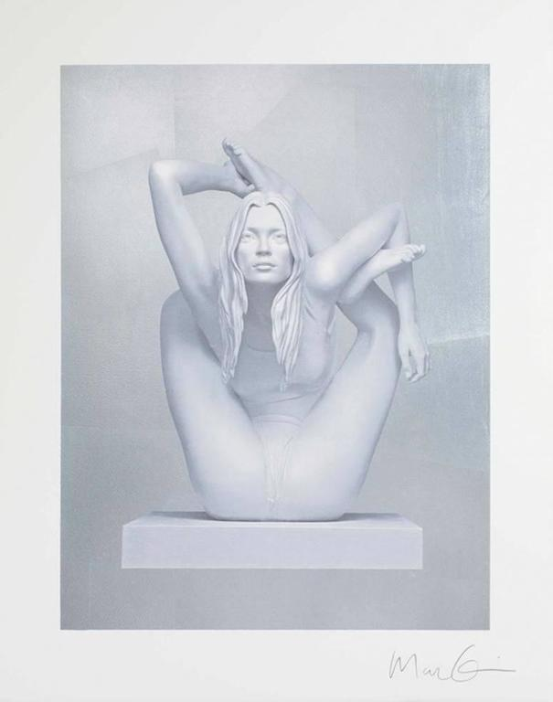 Kate Moss on Silver
