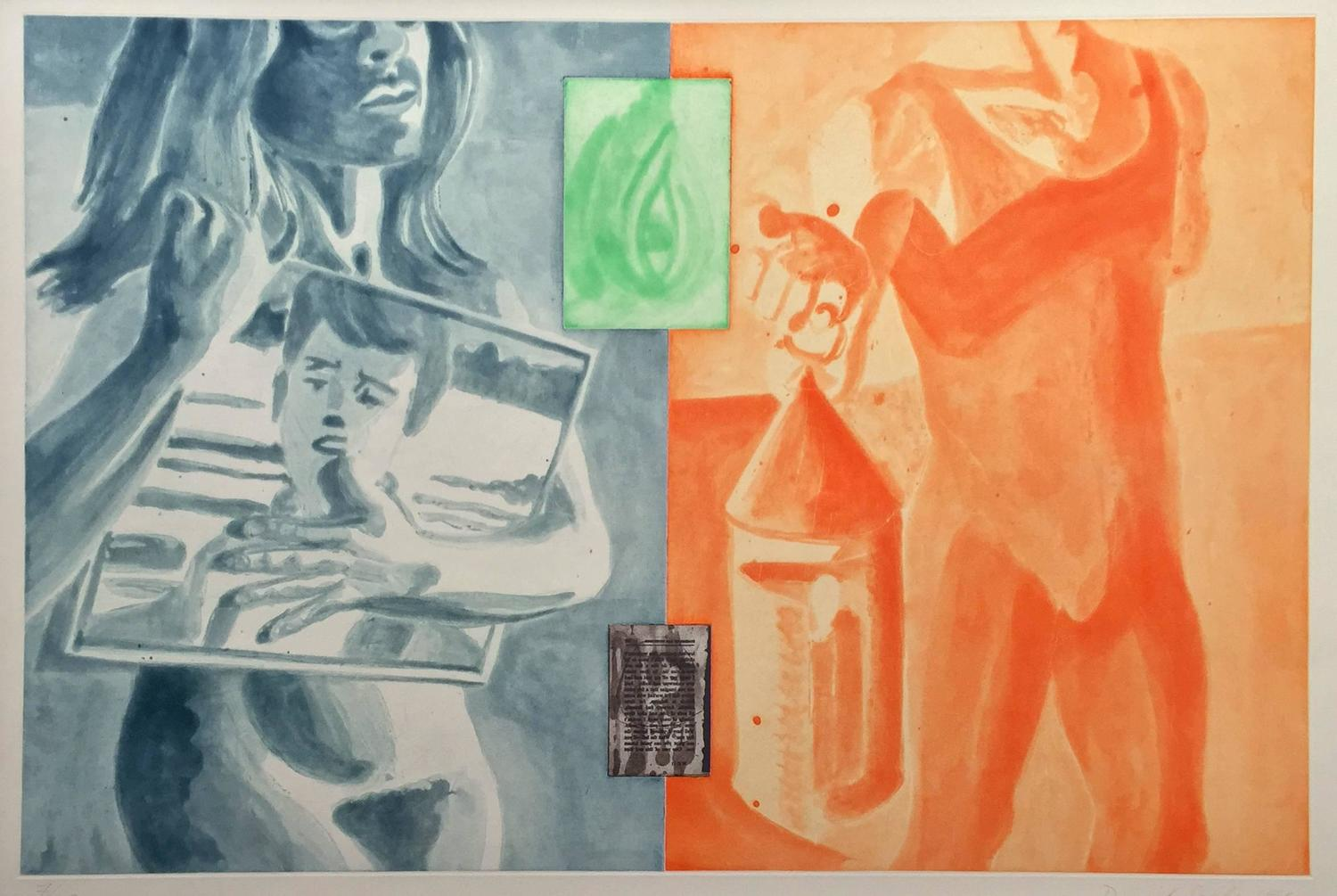 David Salle Untitled From Canfield Hatfield For Sale At