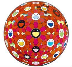 Flower Ball (3D) Red Ball
