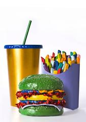 No Artificial Fast Food (colour)