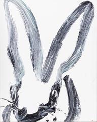 Untitled (Black & White Bunny I)