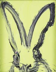 Untitled (Pale Green Bunny)