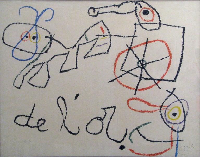 Ubu aux BalEares - Print by Joan Miró