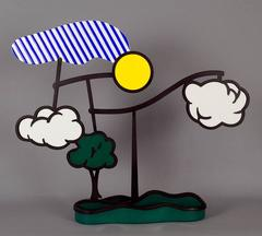 Roy Lichtenstein - Landscape Mobile (Limoges)