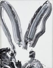 Untitled (Black & White Bunny 3)